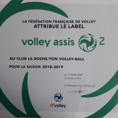 Label volley assis 2 18 19